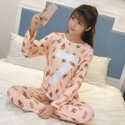SALICEHB Conjuntos De Pijamas para Mujer Ronda De Dibujos ...