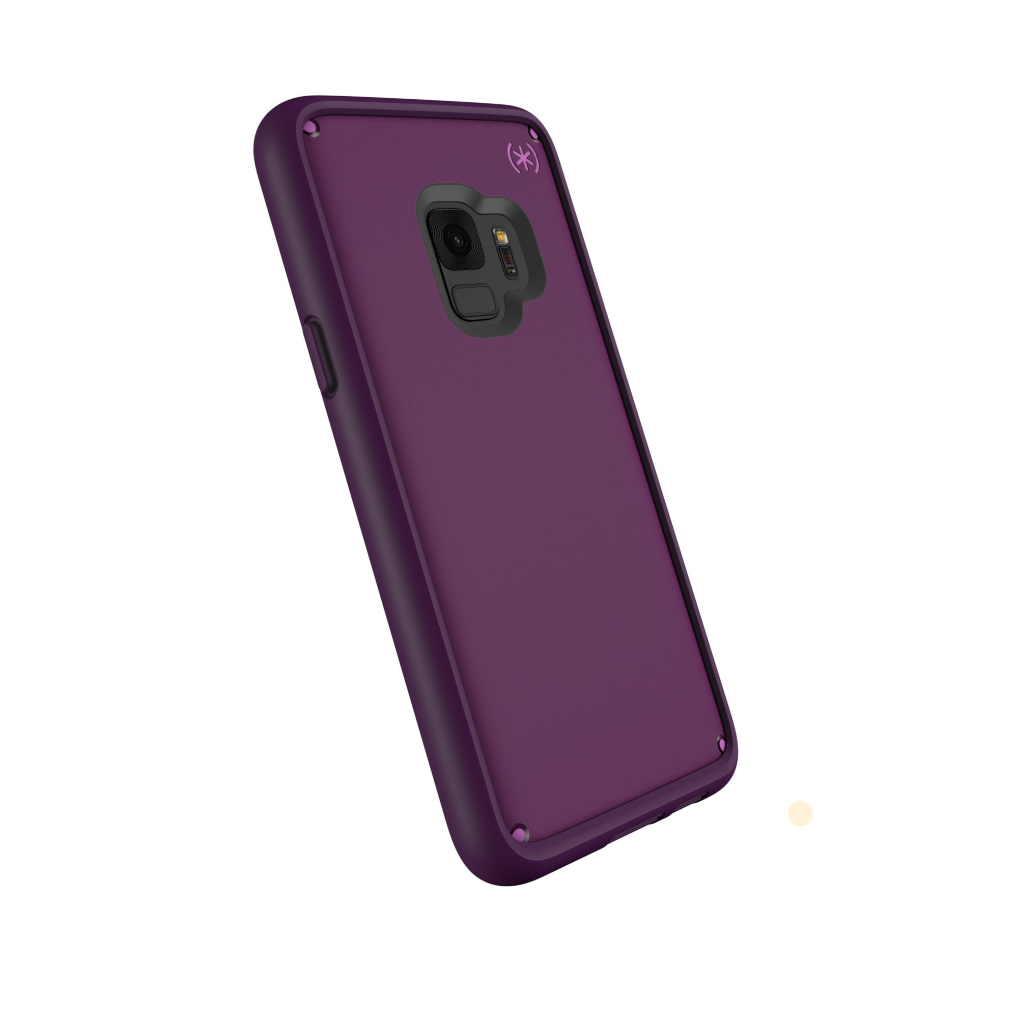 factory price e2d4e b8c63 Speck Products Compatible Phone Case for Samsung Galaxy S9, Presidio Ultra  Case, Mangosteen Purple/Hibiscus Pink/Eggplant Purple