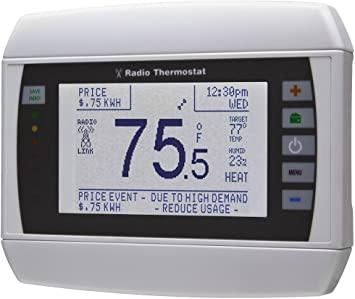 Radio Thermostat CT50 7-Day Programmable Thermostat WiFi Enabled iOS /& Androi...