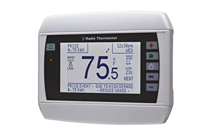 Radio Thermostat CT80 7-Day Programmable Thermostat (WiFi Enabled), iOS & Android