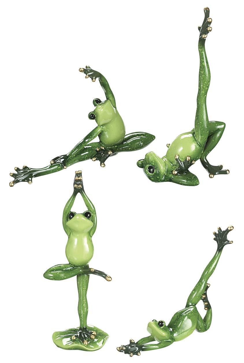 Spring GZ - Figuras coleccionables de Rana para Yoga (10 x 5 ...