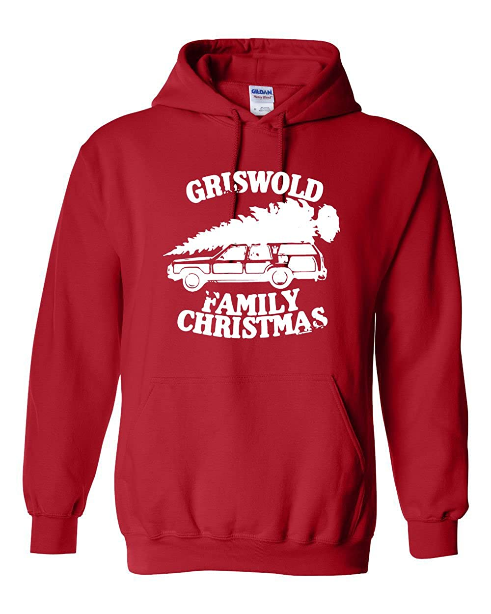 Griswold Family Christmas Tree on Car Unisex HOODIE 12879-$P