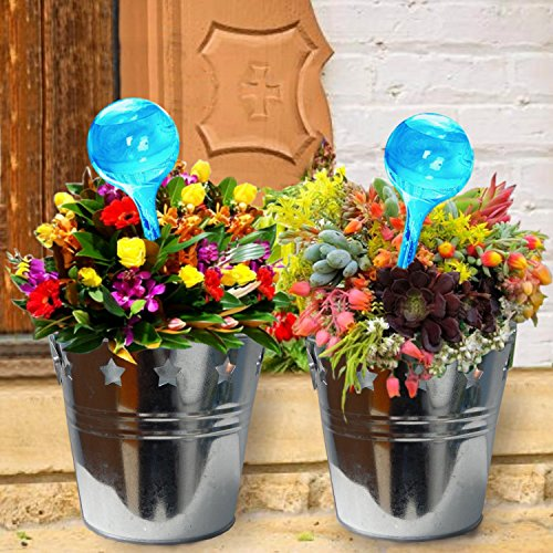garden-pots-plant-waterer-and-metal-bucket-planters-set-of-2-bonus-jobes-fertilizer-for-mothers-day-