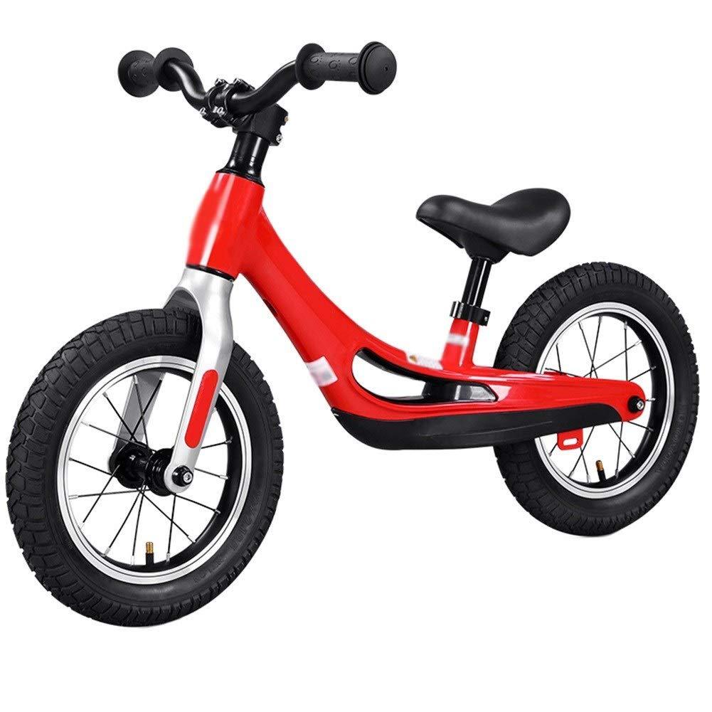 marcas en línea venta barata rojo 90x50cm CQILONG-bicicleta de equilibrio Ligera Asiento Ajustable Ajustable Ajustable Fácil Controlar Neumático Antideslizante Amortiguador Niños, 2 Colors (Color   rojo, Talla   90x50cm)  la mejor selección de