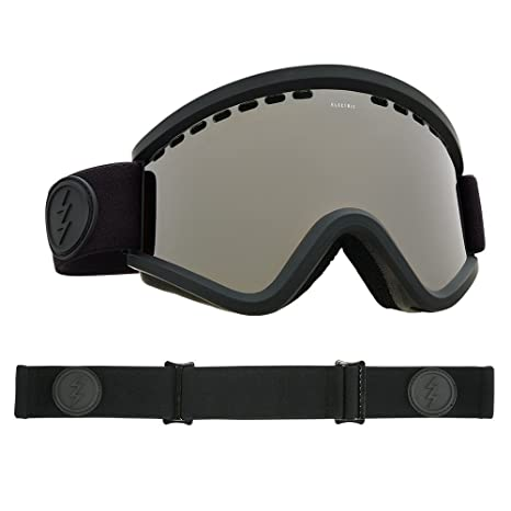 ae89b21a61e0 Image Unavailable. Image not available for. Color  Electric Visual EGV Matte  Black Brose Silver Chrome Snow Goggle