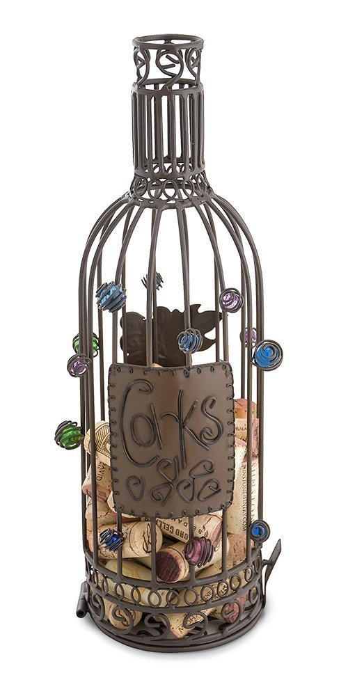 Beaut Products Cork Cage Wine Barrel Wall Unit, 12.25-Inch Epic Products 91-035
