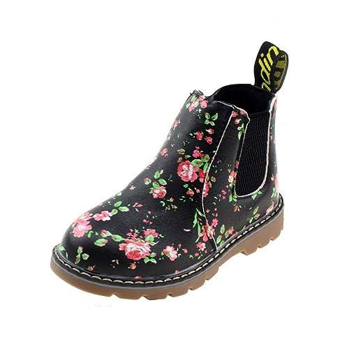 7d967cdd0af3 Boy s Girl s Floral Ankle Boots