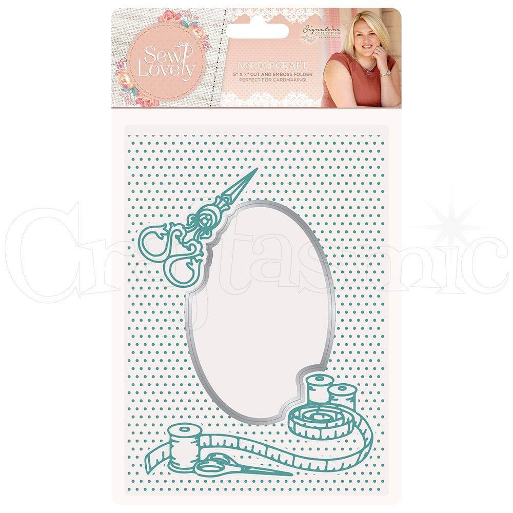 Sara Davies Sew Lovely Signature Collection - Cut & Emboss Folder - Needle