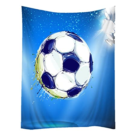 Hippie Tapiz Arte Tapices de pared tapices Soccer Football – Balón ...