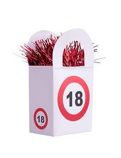 Balloon BANG - Ballongewicht - 18 cumpleaños diseño ...