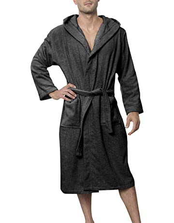 4cb6ffb350 Twinzen Men s Bathrobe (XS to XL) - Luxury 100% Cotton Bathrobes