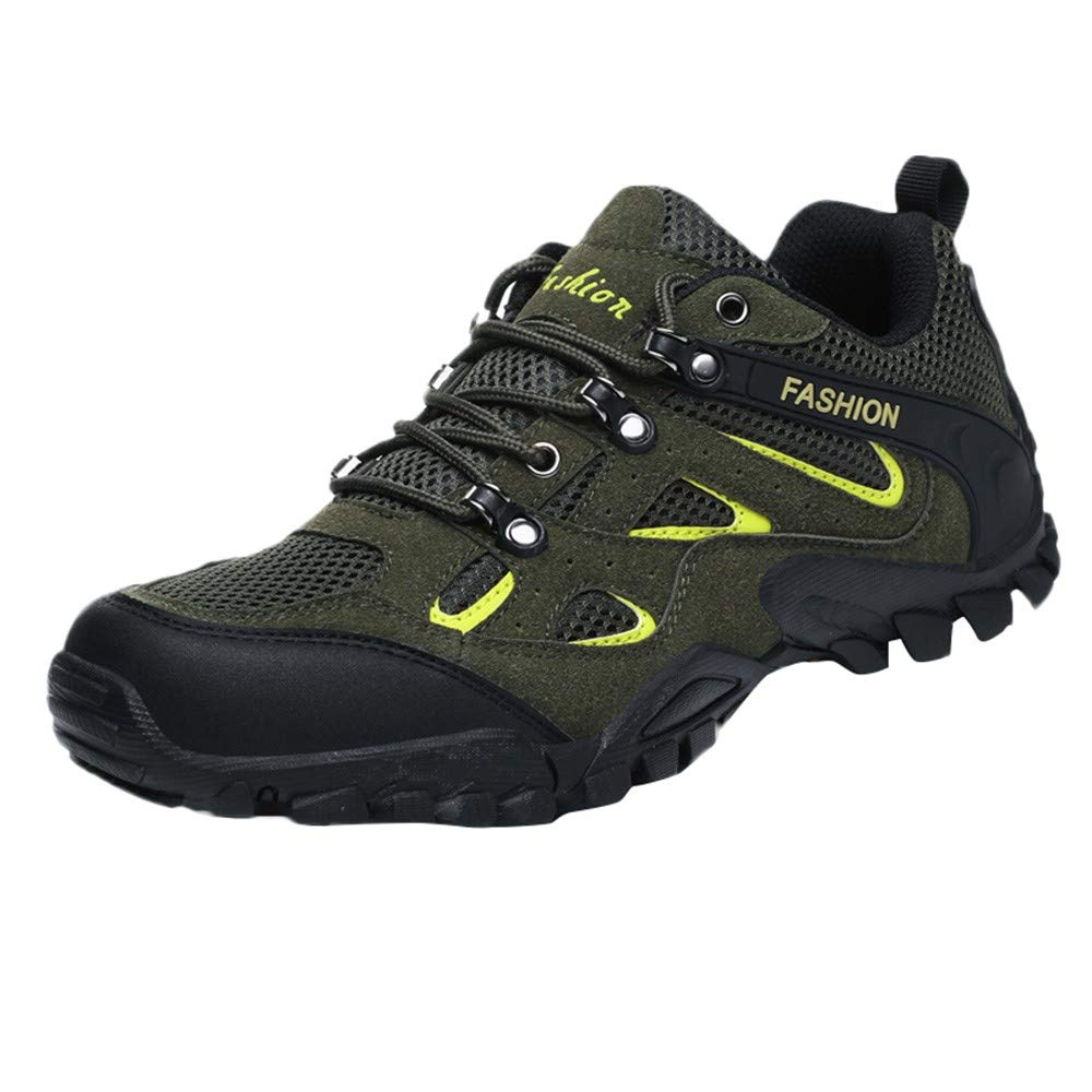 Male Hiking Shoes - Mesh Sports Outdoor Walking Shoes Non-Slip Shoes, 2019