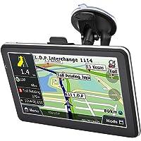Jacksking Navegação GPS para carro, sistema de navegação de carro 718-8g 7 polegadas GPS navegador carro posicionamento…