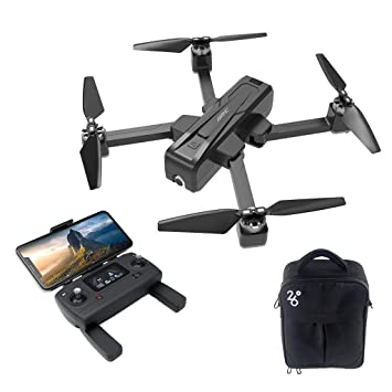 Glowjoy JJR/C X11 5G WIFI FPV 2K RC Mini Dron Plegable con 1080P ...