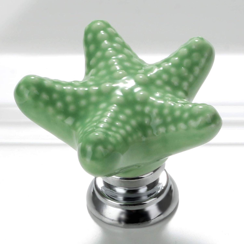 5pcs Poign/ée de tiroir Les boutons de porte en c/éramique Tirette des tiroirs darmoire de Cabinet
