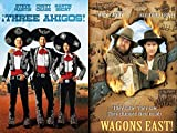 Maybe Heading West Wasn't Such A Good Idea: Three Amigos! & Wagons East! (DVD Comedy Double Feature)