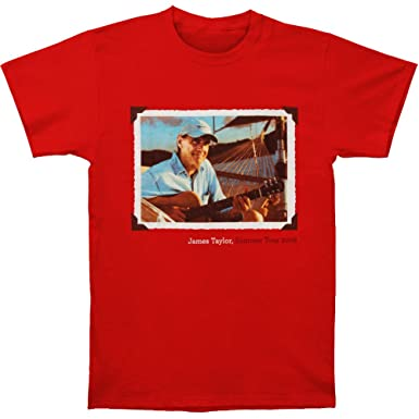 764cf4da9 Amazon.com: James Taylor Men's Framed Photo 08 Tour Slim Fit T-Shirt ...