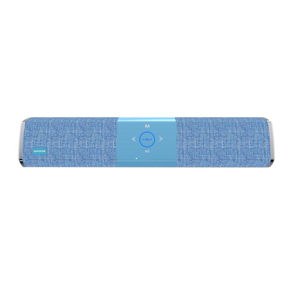Baoblaze 1 Pieza de Altavoz Portàtil de Manos Libres Bluetooth para Móvil Inteligente Universal - azul