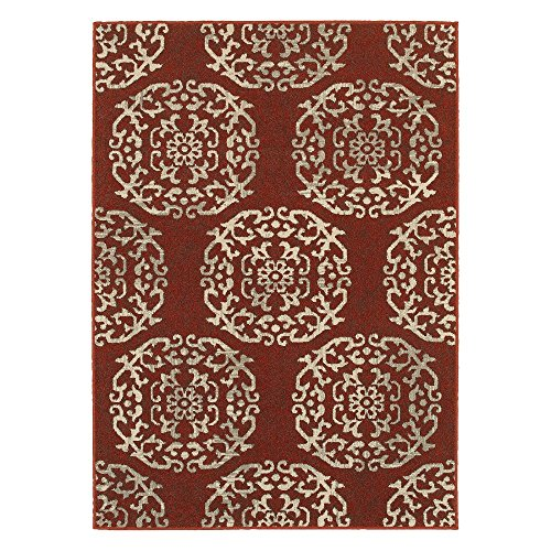 picture of Oriental Weavers Highlands 6672B Area Rug