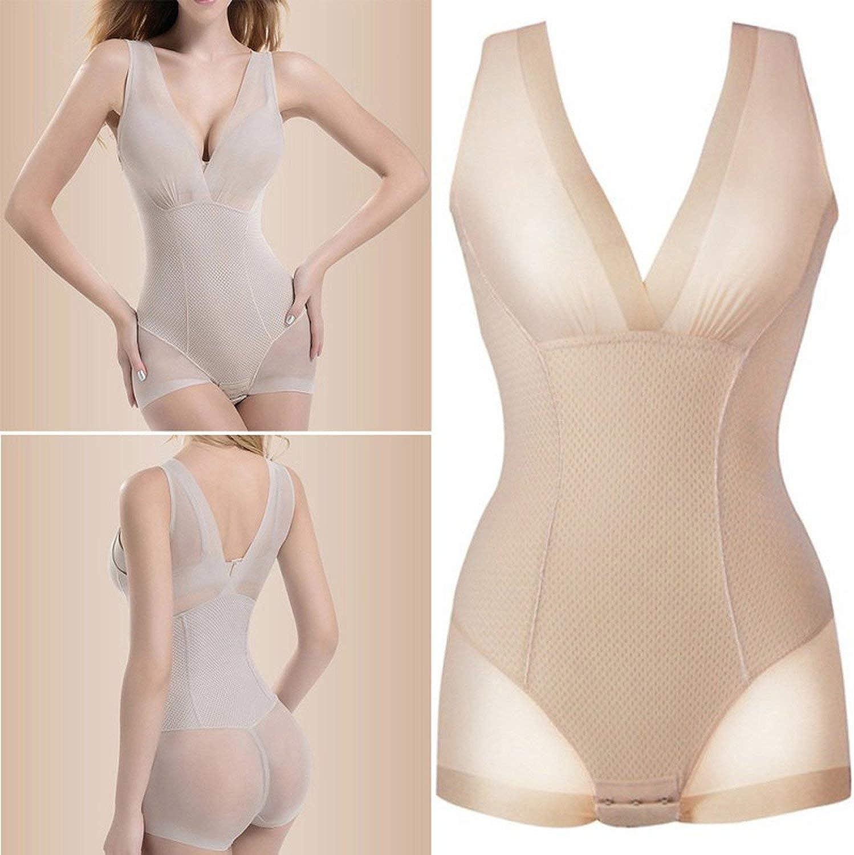 Cuerpo Entero y Adelgazante Heart-To-Heart shapewear Bragas adelgazantes para Mujer con Forma de Barriga Talla XXL
