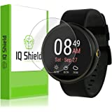 IQ Shield LiQuidSkin [6-Pack] - Motorola Moto 360 Screen Protector - High Definition (HD) Ultra Clear Screen Smart Film - Premium Protective Screen Guard - Extremely Smooth / Self-Healing / Bubble-Free Shield - Kit comes in Frustration-Free Retail Packaging