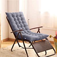 Sun Lounger Cushions Lounge Pads Indoor/Outdoor Garden Patio Relaxer Replacement Cushion Seat Cover