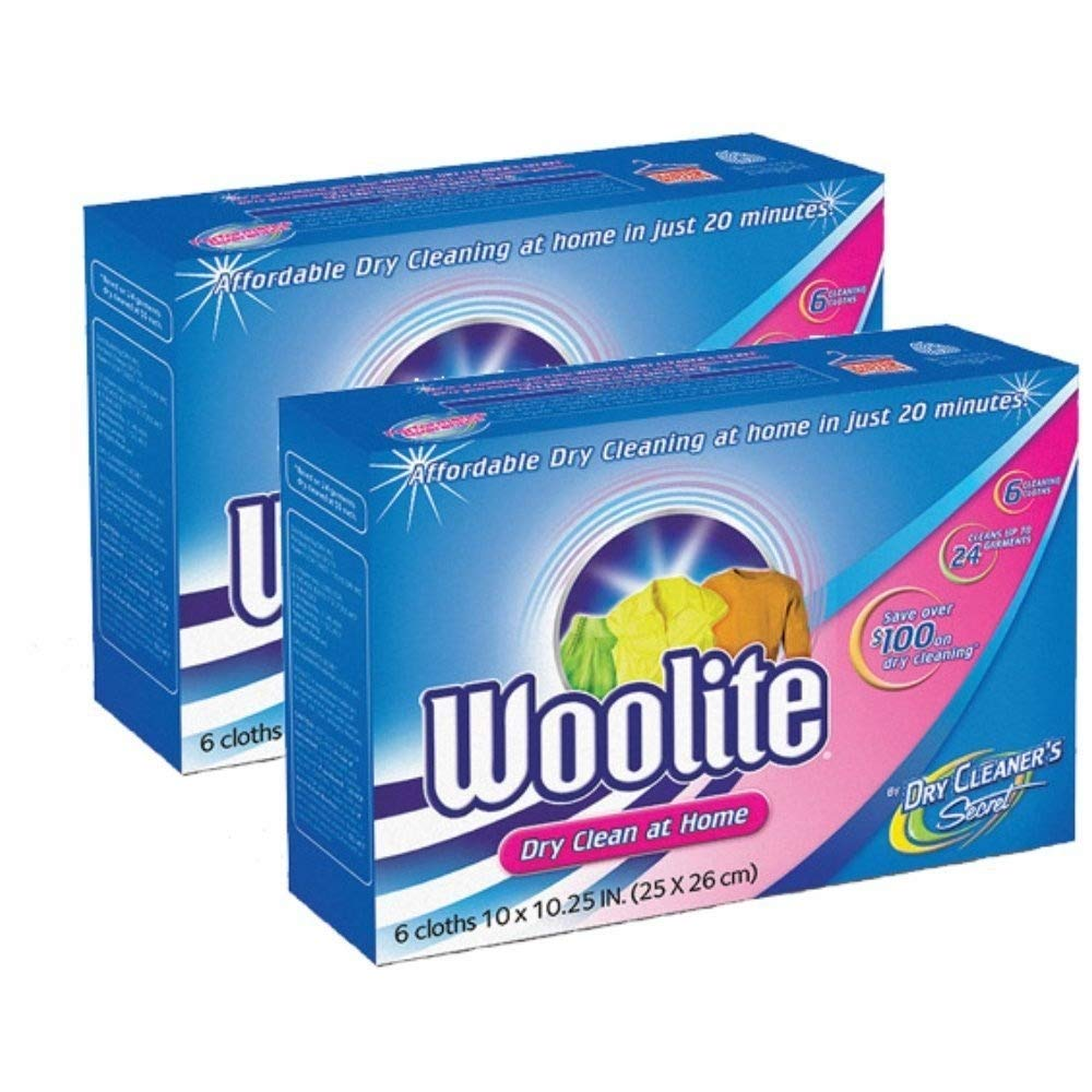 Woolite ドライクリーナー シークレット ドライクリーニングクロス 12枚入り B00KIXUGTE