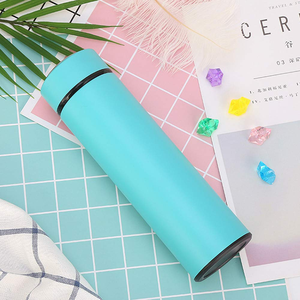 TM Vacuum Cup Fheaven Khaki Fashion Office School Cool Outdoor Cup Travel Vacuum Straight Drinking Cup