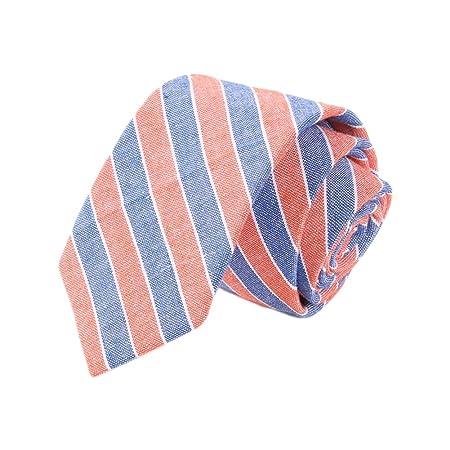Gespout 1 Artículo Moda de Algodón Casual Corbata Estrecha Corbata ...