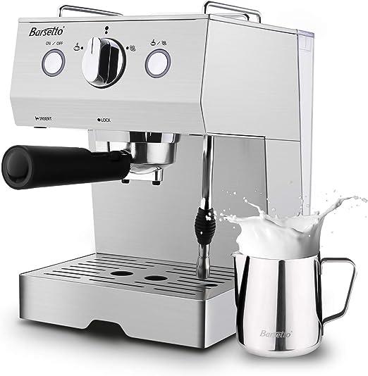Amazon.com: Máquina de café Espresso, máquina de café de 15 ...