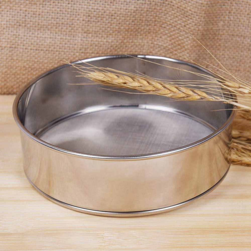 RX Perfetto Farina Setacci Premium Quality Acciaio Inox Housewares setaccio per la casa Kitchen Baking Container 6-inch 60 Mesh 0.3mm Apertura