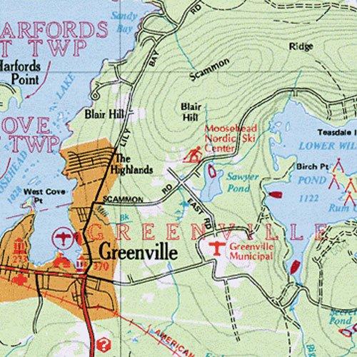Maine Atlas Gazetteer Delorme Atlas Gazetteer Delorme - Road map maine usa