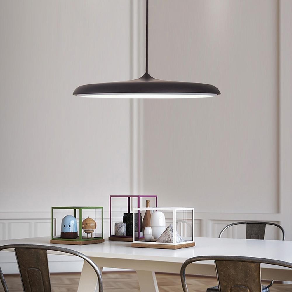 24W LED Pendelleuchte Hängelampe Panel Licht Kronleuchter Modern ...