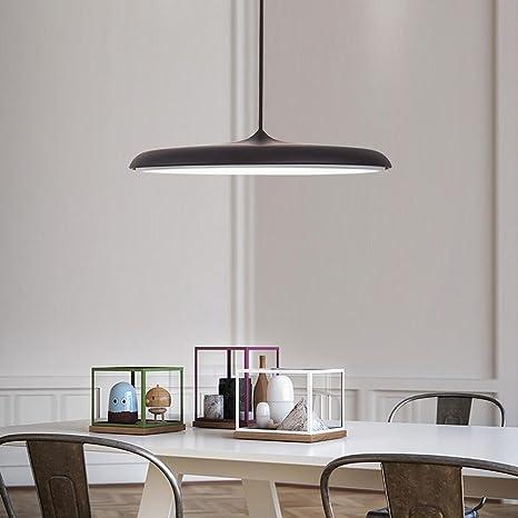 24W LED Colgante de luz Lámpara colgante Panel de luz ...