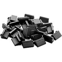 20pcs Soft Plastic USB Port Plug Cover Cap Anti Dust Protector for Female-e SG