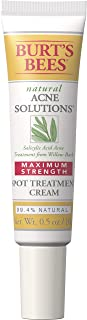product image for Burt's Bees Natural Acne Solutions Maximum Strength Spot Treatment Cream for Oily Skin, 0.5 Oz (Package May Vary)