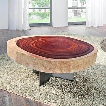Henke Mobel Design Table Basse Forest Tronc D Arbre En Bois D
