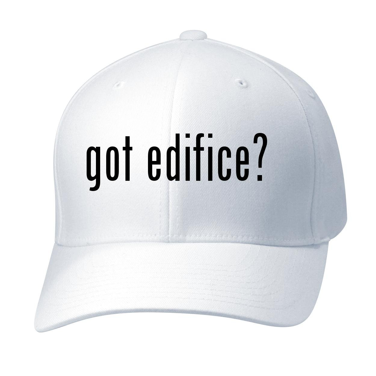 BH Cool Designs Got edifice? - Baseball Hat Cap Adult, White, Small/Medium by BH Cool Designs