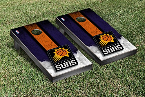 Phoenix Suns NBA Basketball Cornhole Game Set Vintage Version by Victory Tailgate