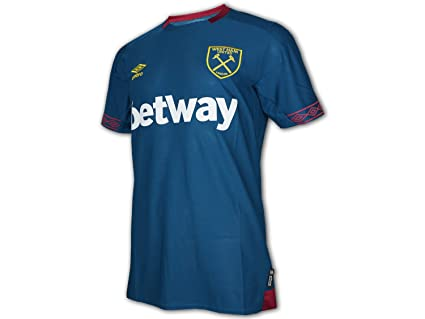 Image Unavailable. Image not available for. Color  Umbro 2018-2019 West Ham  Away Football Shirt 542f1818b