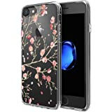 Custodia iPhone 7 , ivencase Cover iPhone 7 Silicone Trasparente TPU Flessibile Sottile Bumper Case per iPhone 7