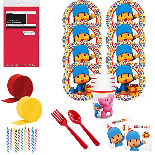 Costume SuperCenter Pocoyo Deluxe Tableware -