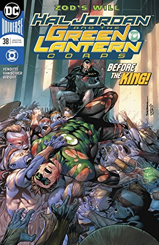 HAL JORDAN AND THE GREEN LANTERN CORPS #38 RELEASE DATE 2/14/2018