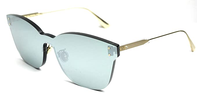 7af6eedc65559 Image Unavailable. Image not available for. Color  Christian Dior  Colorquake 2 sunglasses 7BYT4 Gold Silver ...