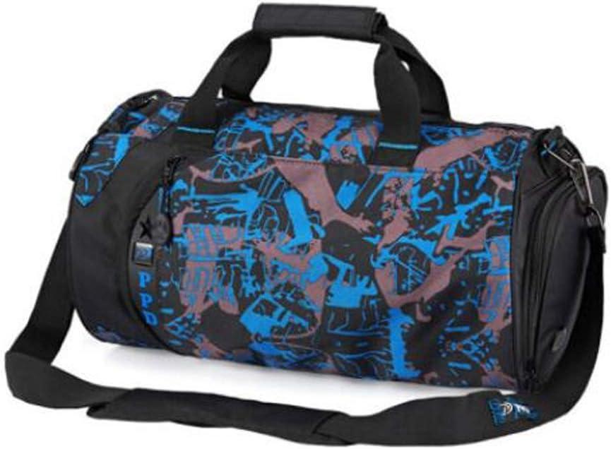 Wet and Dry Separation Waterproof Gym Bag Hongyuantongxun Sports Bag Large Size: 502626cm Safety Mens and Womens Shoulder Bag Crossbody Portable Training Bag Large-Capacity Travel Bag