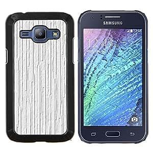 For Samsung Galaxy J1 J100 J100H - White Ice Texture Nature Pattern /Modelo de la piel protectora de la cubierta del caso/ - Super Marley Shop -
