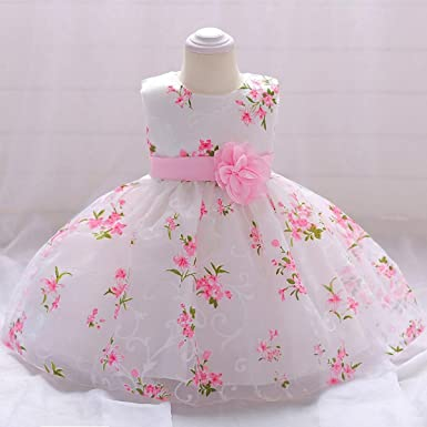 902472fd6ad76 Image Unavailable. Image not available for. Color: WEEKEND SHOP Baby Dress  Newborn Baby Girls Dresses ...