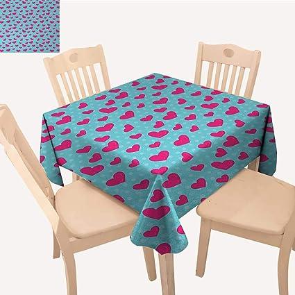 Astounding Amazon Com Pop Art Fabric Tablecloth Retro 50S 60S Style Download Free Architecture Designs Scobabritishbridgeorg