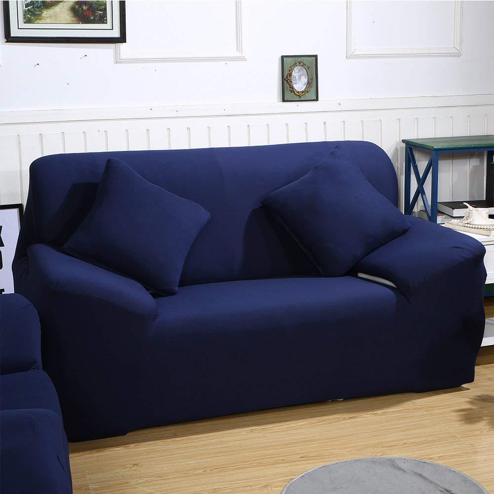 Home Comfort 3 e 4 posti Grey 2 copridivano in Tessuto Elastico per Divano da 1 One Seater