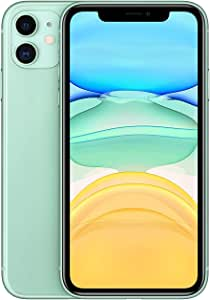 Apple iPhone 11 with FaceTime Physical Dual SIM - 64 GB, 4G LTE, Green - Hong Kong Version